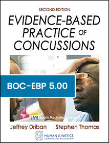 Evidence-Based Practice of Concussions CE Course, Second Edition
