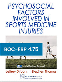Psychosocial Factors Involved in Sports Medicine Injuries Print CE Course