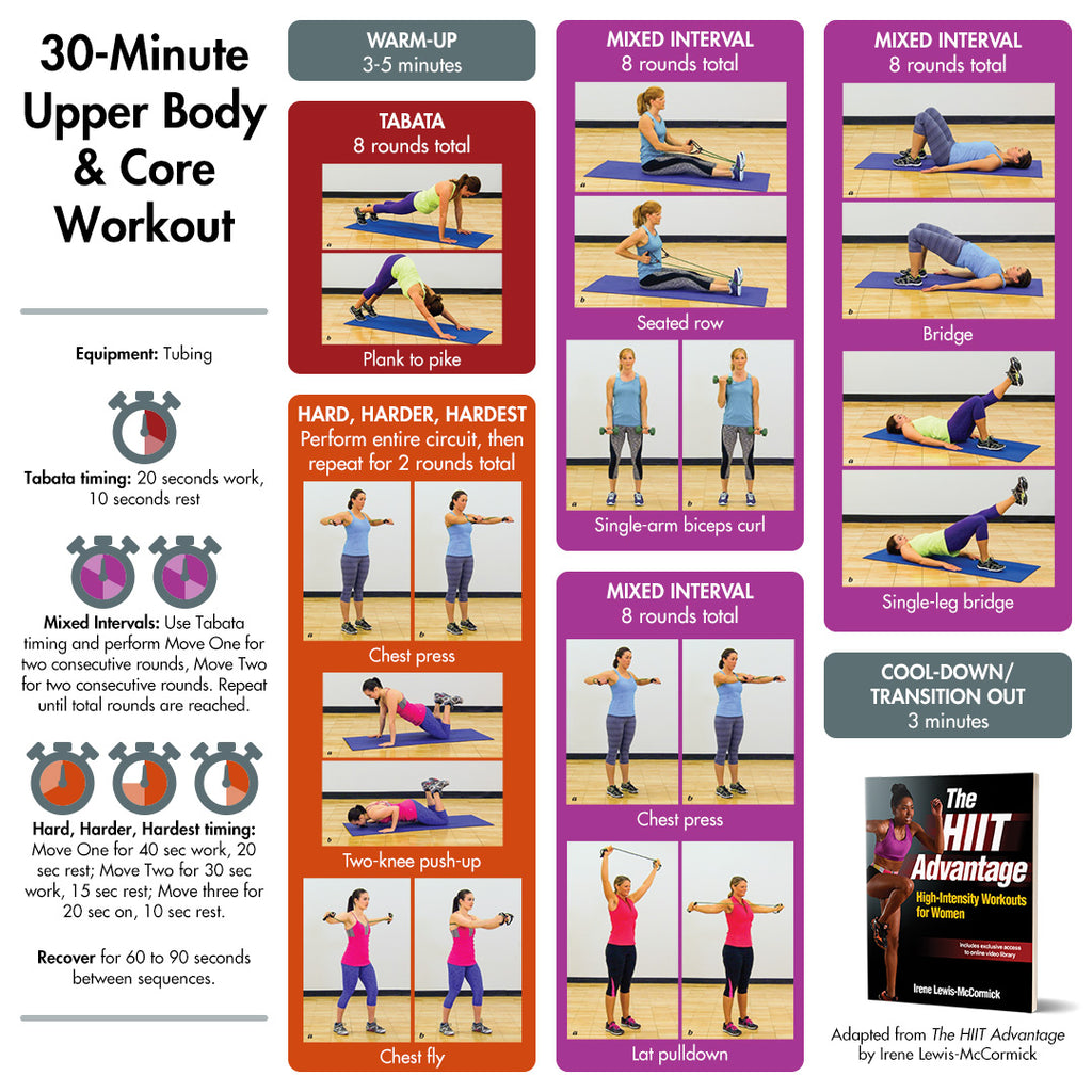 30-Minute Upper Body and Core Workout