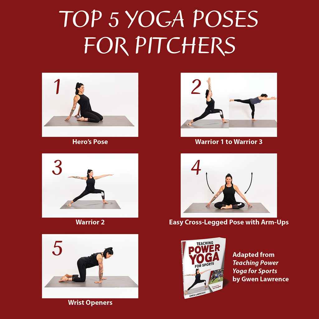 Top 5 yoga poses for pitchers