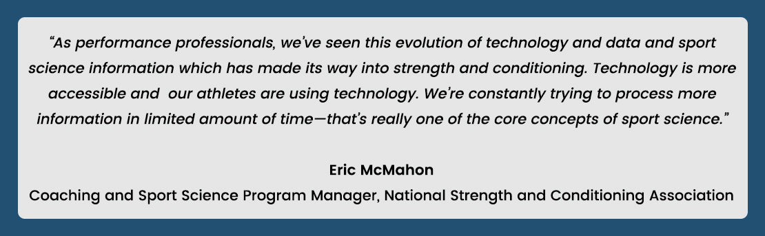 Quote from Eric McMahon