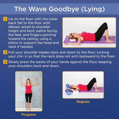 the wave goodbye stretch