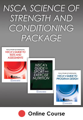 NSCA Science of Strength and Conditioning Online CE Course Package-2021 Edition