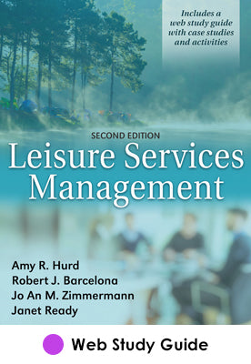 Leisure Services Management Web Study Guide-2nd Edition