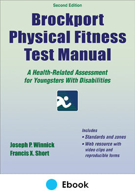 Brockport Physical Fitness Test Manual 2nd Edition PDF With Web Resource
