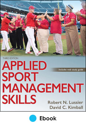 Applied Sport Management Skills 3rd Edition epub With Web Study Guide