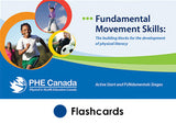 Fundamental Movement Skills: Active Start and FUNdamentals Stages Card Set