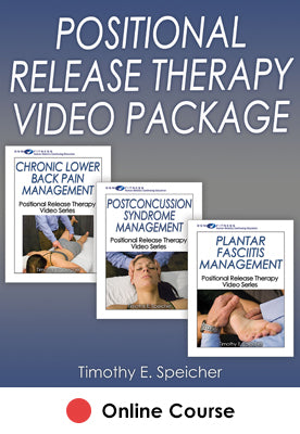Positional Release Therapy CE Video Package