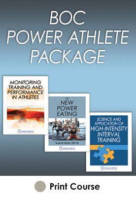 BOC Power Athlete Print CE Course Package-2021 Edition