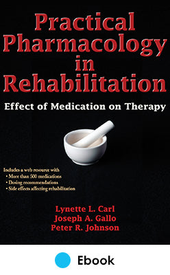 Practical Pharmacology in Rehabilitation PDF With Web Resource