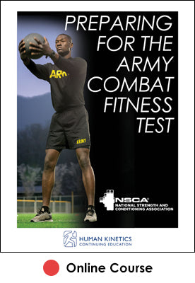 Preparing for the Army Combat Fitness Test Online CE Course