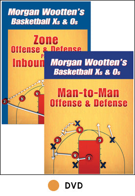 Morgan Wootten's Basketball Xs & Os 2  DVD Package