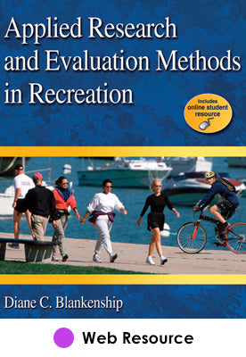 Applied Research & Eval Methods in Recreation Online Student Res