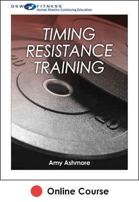 Timing Resistance Training Ebook With CE Exam