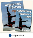 Athletic Body in Balance Book/DVD Package