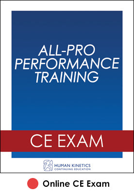 All-Pro Performance Training Online CE Exam