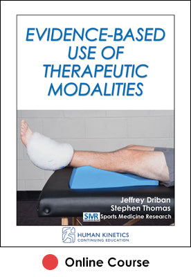 Evidence-Based Use of Therapeutic Modalities Online CE Course
