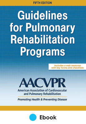 Guidelines for Pulmonary Rehabilitation Programs 5th Edition epub With Web Resource