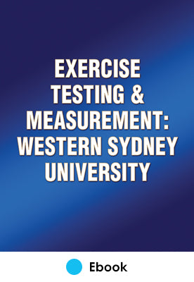 Exercise Testing and Measurement: Western Sydney University