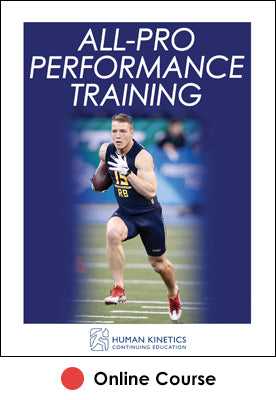 All-Pro Performance Training Ebook With CE Exam