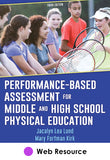 Performance-Based Assessment for Middle and High School Physical Education Web Resource-3rd Edition