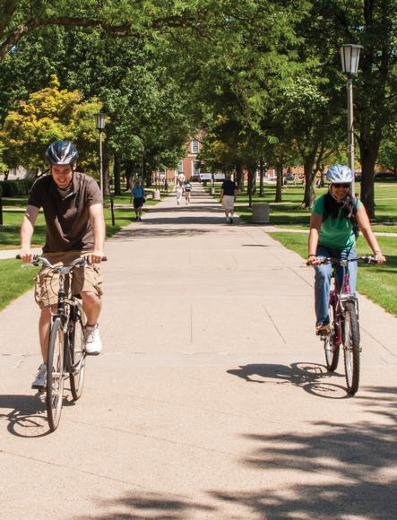 Recreational biking is an example of a moderate-intensity physical activity. It's one of many activities you can choose to accumulate your 60 minutes of daily physical activity.
