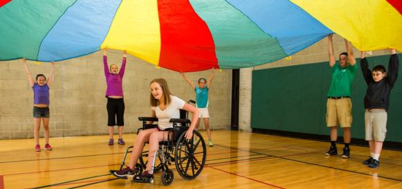 Including a student with a disability in physical education benefits everyone.