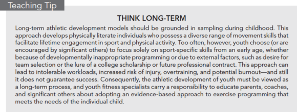 Teaching Tip: Think Long-term