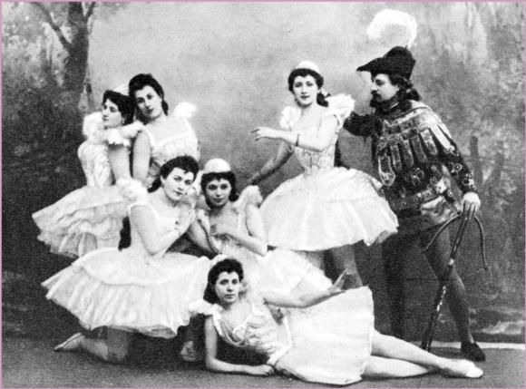 (1895), the prototype of classical ballet.