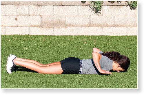 Figure 4.3 Hand Release Push-Up–Arm Extension: return to ground.