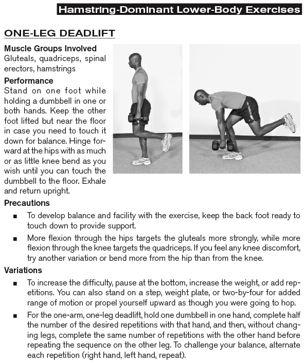One-Leg Deadlift