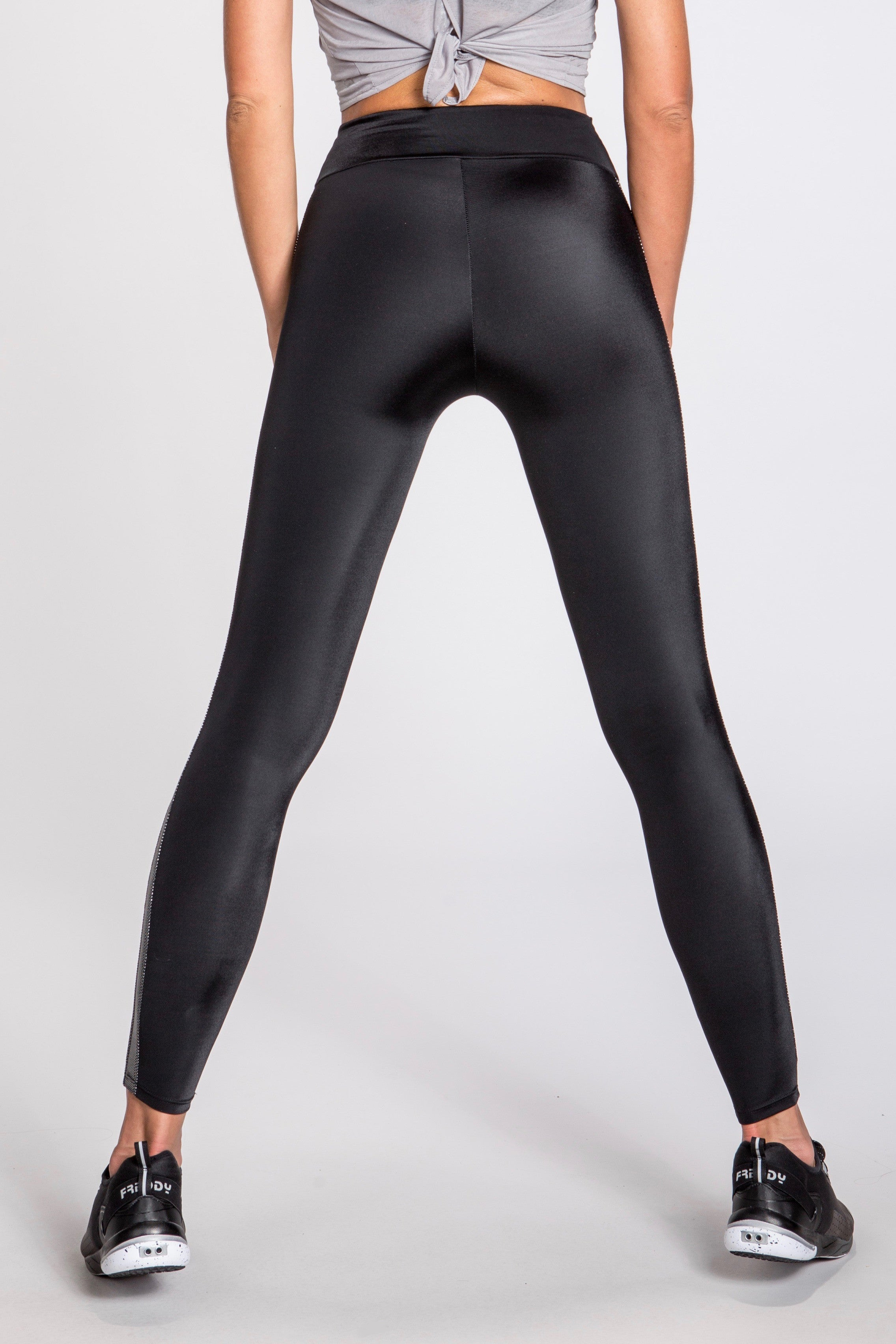 Nikita Combat Leggings- Black/Silver