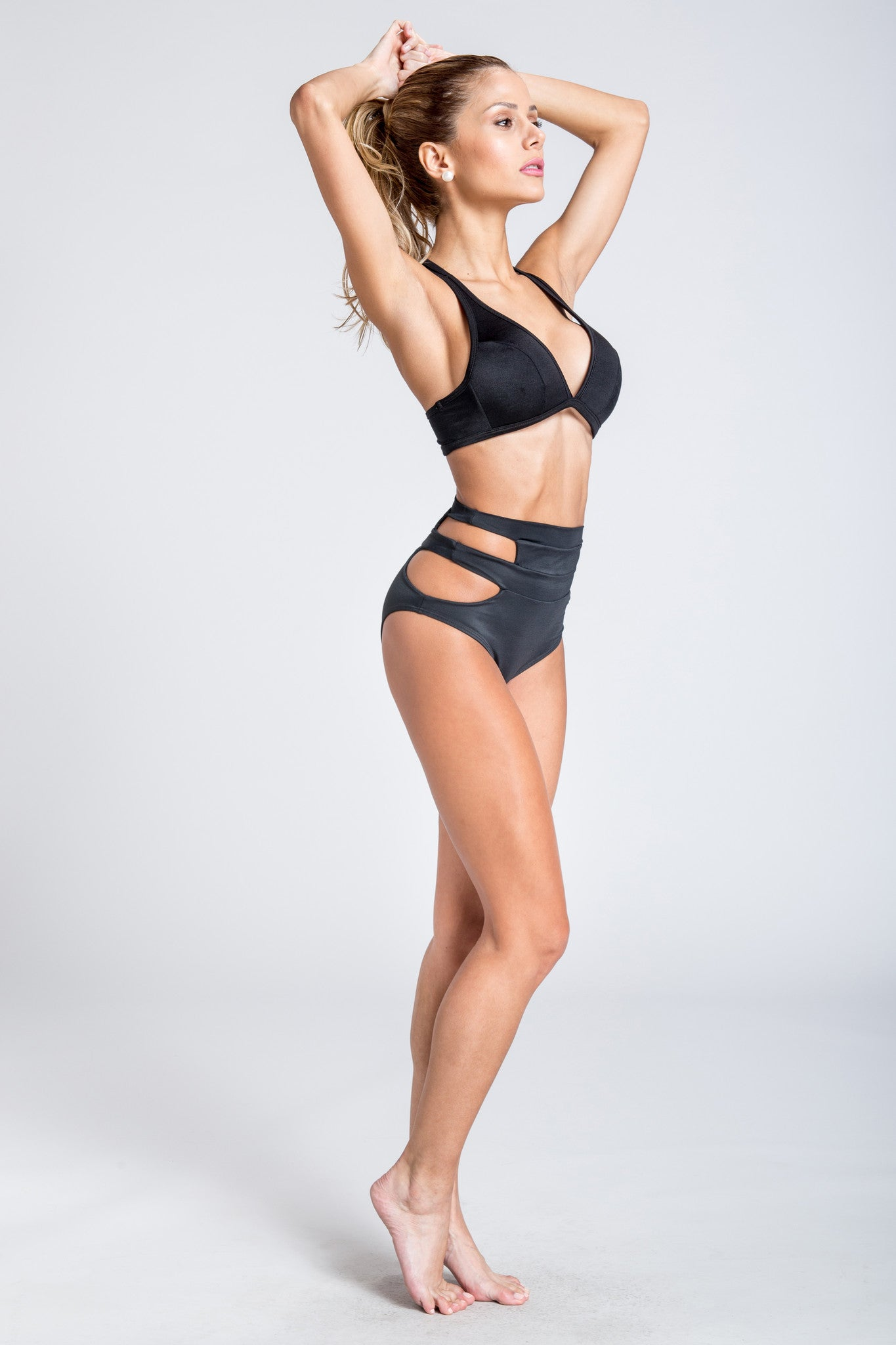 Beyond Basic High Waist Brief - Black