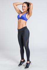 Lean Low Cut Bra - Lapis Blue