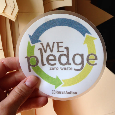 I pledge ZERO WASTE!