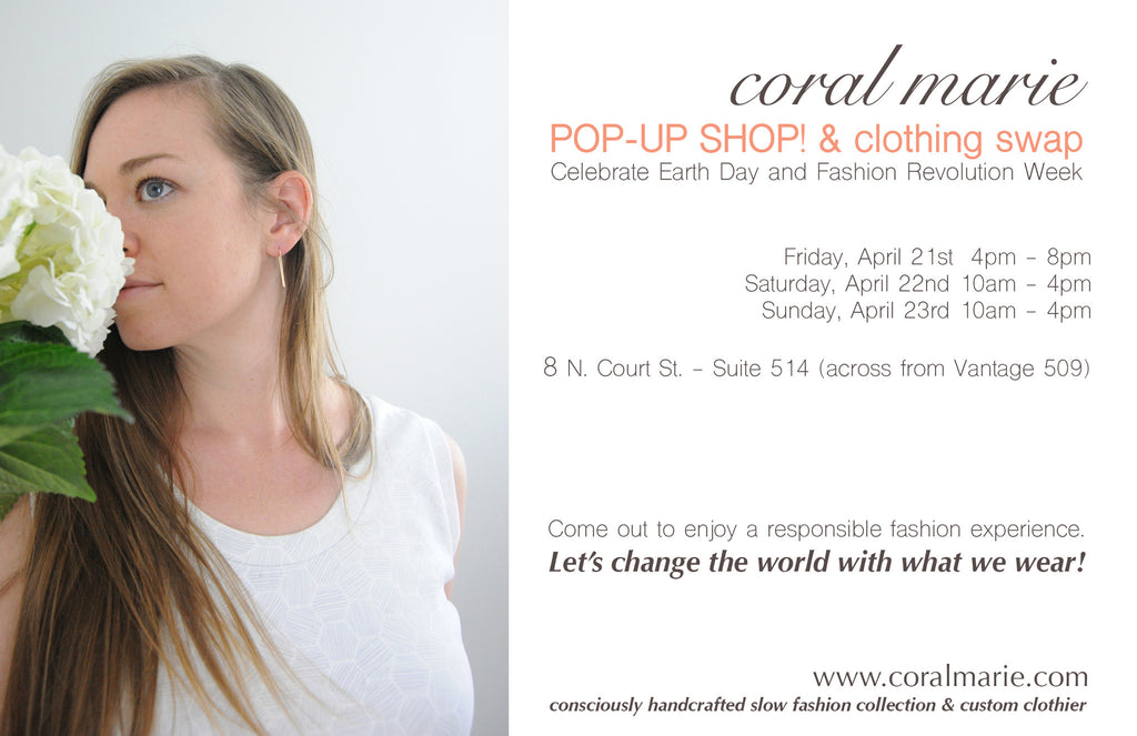 POP-UP  SHOP! & Clothing Swap