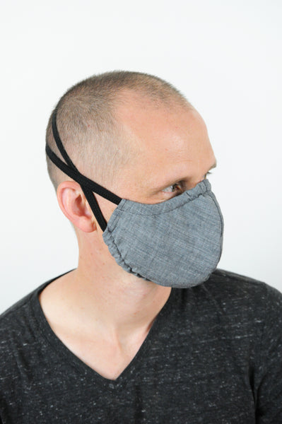 V4 Athletic Face Mask - Gray