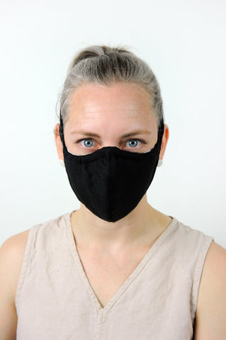V4 Athletic Face Mask - Black