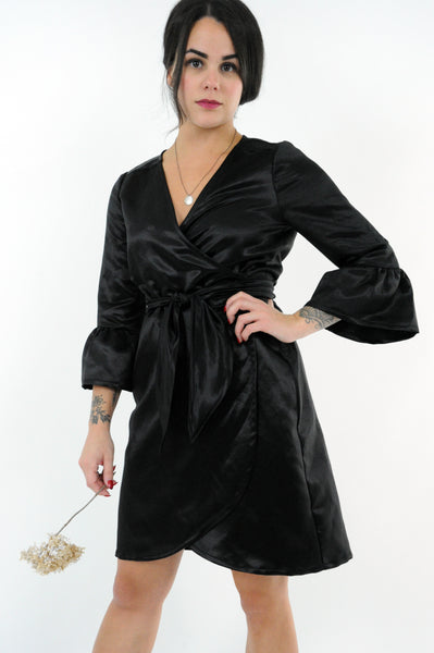 Phantom Wrap Dress