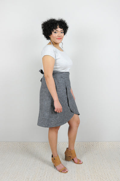 Sundry Wrap Skirt