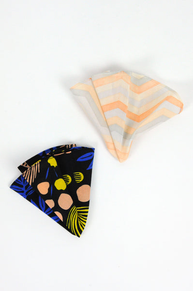 Pocket Rounds (set of 2) - pulse/chevron