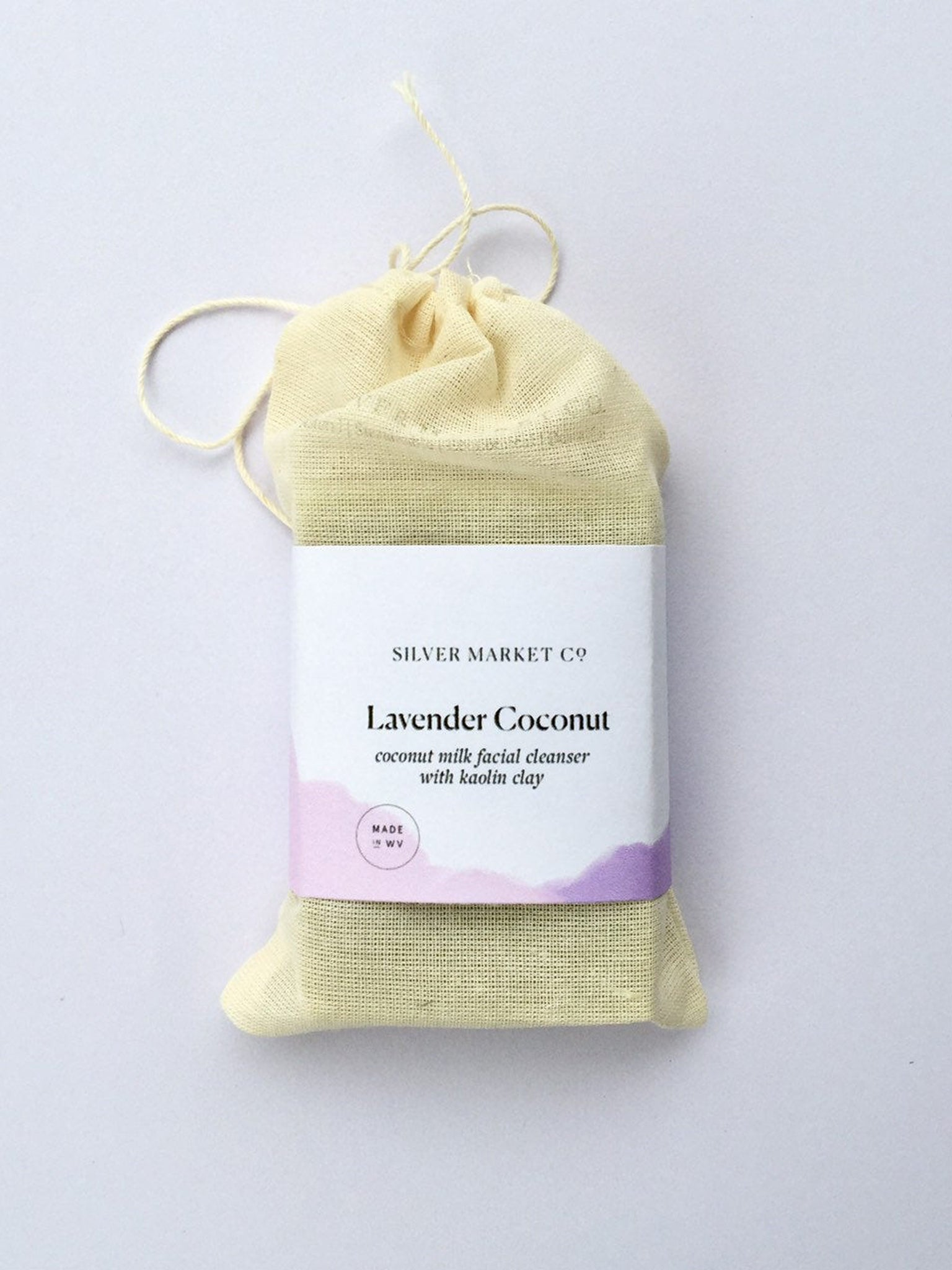 Lavender Coconut Cleansing Bar