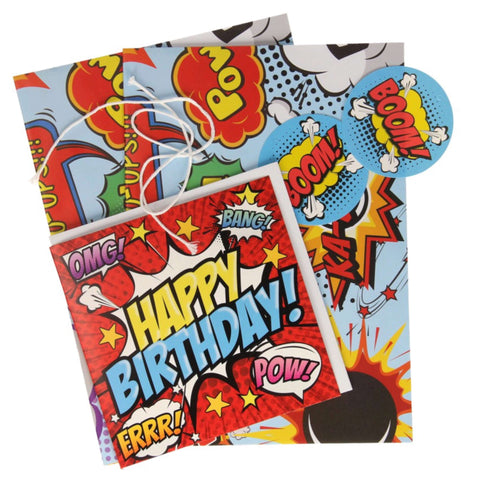 Gift Pack- Comic Book