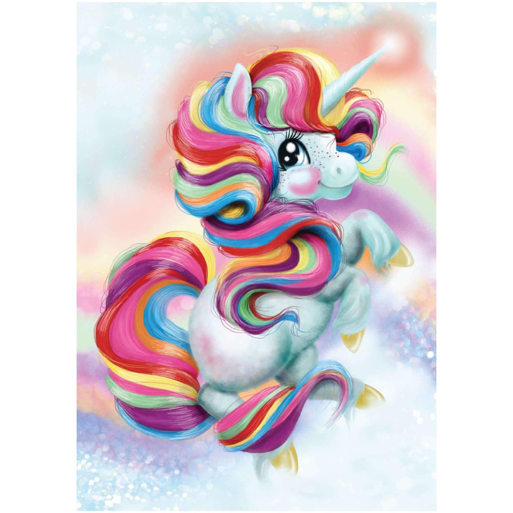 EXCLUSIVE Unicorn Poster A3 - Five Little Diamonds