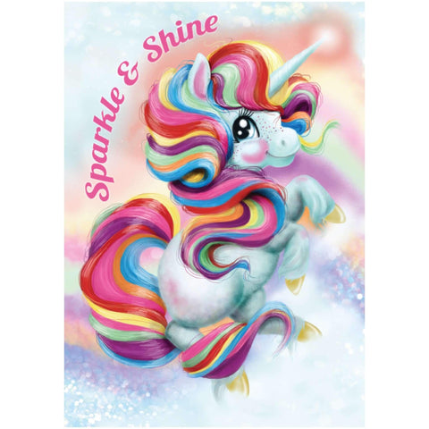 "A3 EXCLUSIVE ""Stevie"" Unicorn Poster- Sparkle & Shine"