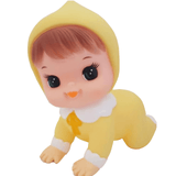 Hihi Retro Crawling Doll - Lemon - Five Little Diamonds