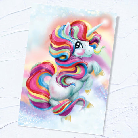 A3 EXCLUSIVE Unicorn Poster