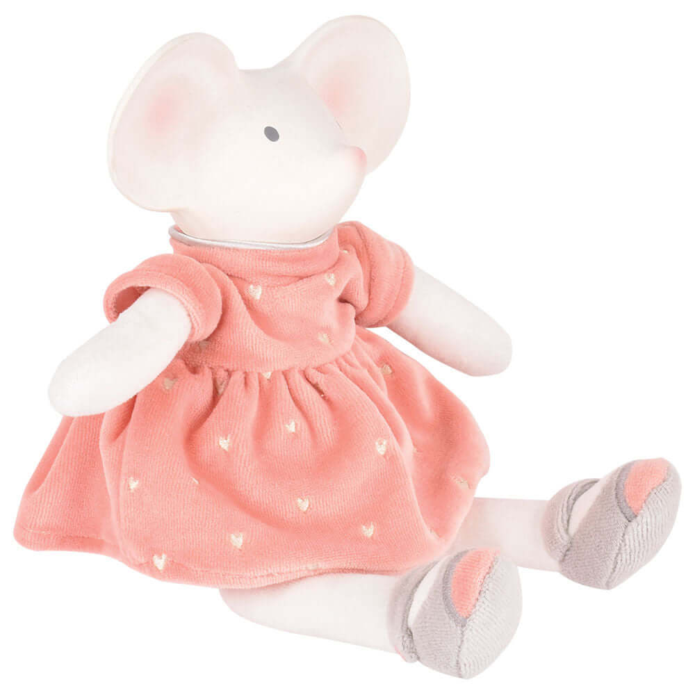 Natural Rubber Meiya Mouse Teething Doll £25 Five Little Diamonds