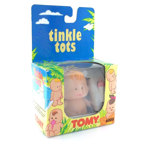 Vintage 1990's Blonde Tinkle Tots / Pipi Baby by Tomy - Five Little Diamonds