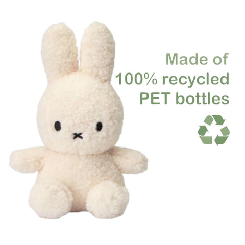 100% Recycled Miffy 23cm Plush- Off White